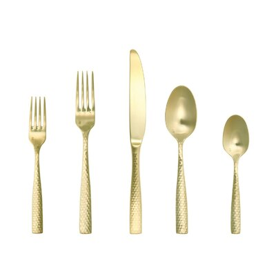 Lucca 5 Piece Flatware Set