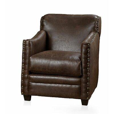Lodge Armchair Upholstery: Nubuck