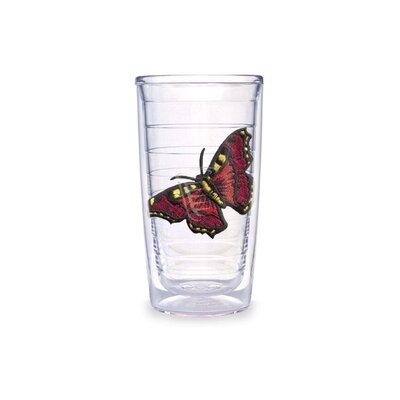 Butterfly 10 Oz. Mar Red Tumbler