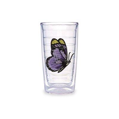 Butterfly 10 Oz. Purple Tumbler