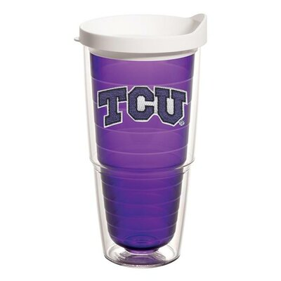 Collegiate Amethyst Tumbler with Lid Size: 24 oz., Team: TCU 1101337