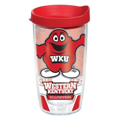 Collegiate Western Kentucky Big Red Tumbler with Lid Size: 16 oz., Lid Color: Red 1160581