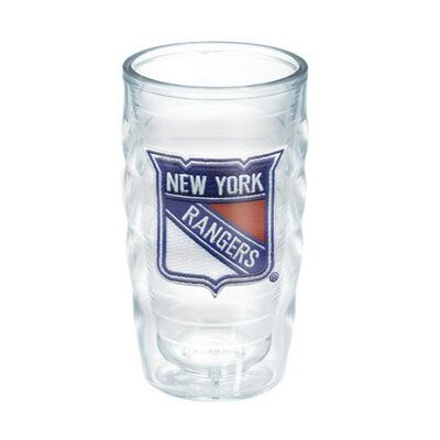 NHL 10 Oz. Wavy Tumbler Team: New York Rangers 1049620