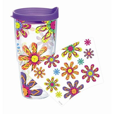 Sun and Surf Flip Flops 24 Oz. Tumbler with Lid 1098328
