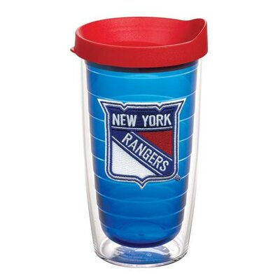 NHL Sapphire Tumbler with Lid Team: New York Rangers, Size: 16 oz. 1087457