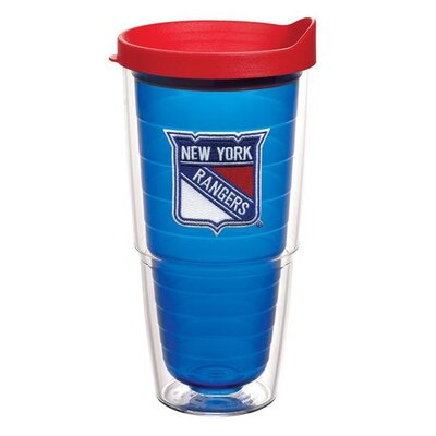 NHL Sapphire Tumbler with Lid Team: New York Rangers, Size: 24 oz. 1087460