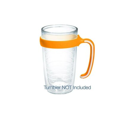 Handle for Tumblers Size: 16 oz., Color: Neon Orange 1101864