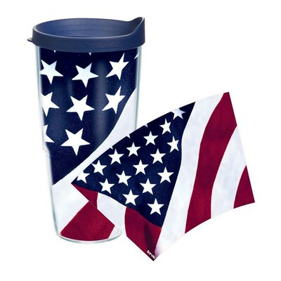American Pride American Flag Colossal Tumbler Size: 24 oz. 1090666