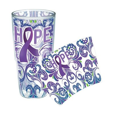Celebrate Life Cancer Awareness Tumbler Size: 24 oz., Lid Included: No 1154581