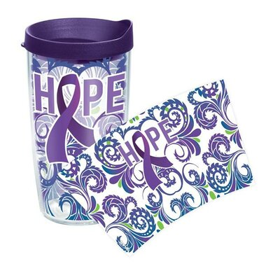 Celebrate Life Cancer Awareness Tumbler Size: 24 oz., Lid Included: Yes 1145121