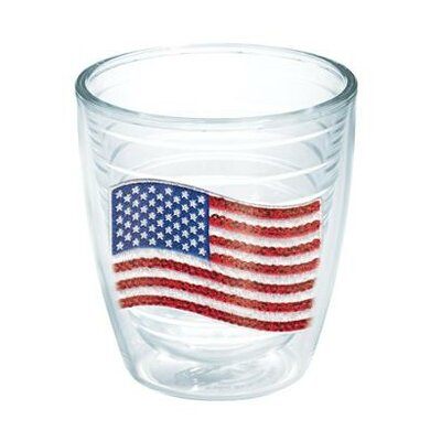 American Pride Sequin American Flag Tumbler Lid Included: No, Size: 12 oz. 1136463