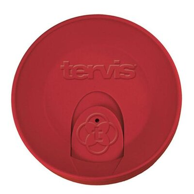 Travel Lid for 24 Oz. Tumblers and Goblets Color: Red 1028405