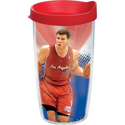 NBA Los Angeles Clippers Blake Griffin 16 Oz. Tumbler with Lid 1077199