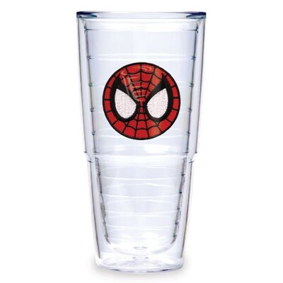 Marvel Spider Head 24 Oz Insulated Tumbler (set Of 2)