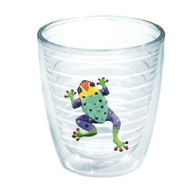 Garden Party Frog Tumbler Color: Purple, Size: 24 oz. 1015711
