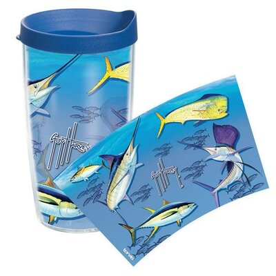 Guy Harvey Big Game Collage Tumbler with Lid Size: 16 oz.