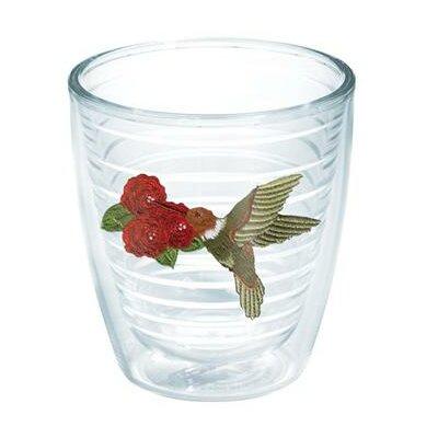Garden Party Hummingbird Tumbler Size: 16 oz., Color: Red 1035287