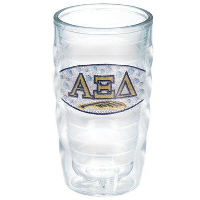 Greek Sorority 10 Oz. Wavy Tumbler Greek Organization: Alpha Xi Delta 1076165
