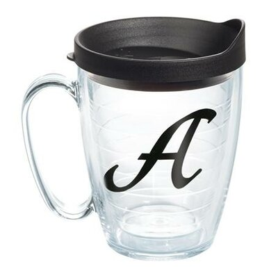 Tervis Tumbler Initials Scroll Mug with Lid 1103592