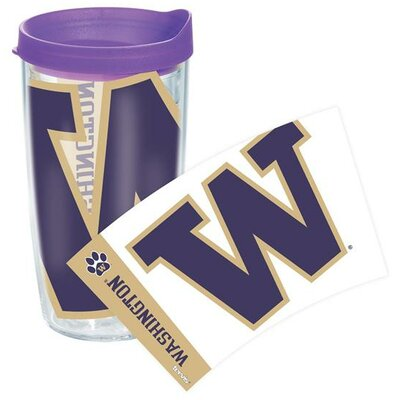 Collegiate Colossal Tumbler with Lid Size: 24 Oz, Team: Washington / Light Purple Lid 1126492