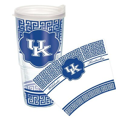 Collegiate Tumbler Lid/No Lid: Lid Included, Size: 24 Oz, Team: University of Kentucky 1154412