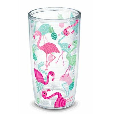 Sun and Surf Flamingos Tumbler 1196081