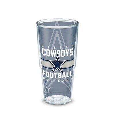 NFL 16 oz. Plastic Every Day Glass Size: 24 oz., Team: Dallas Cowboys 1193552