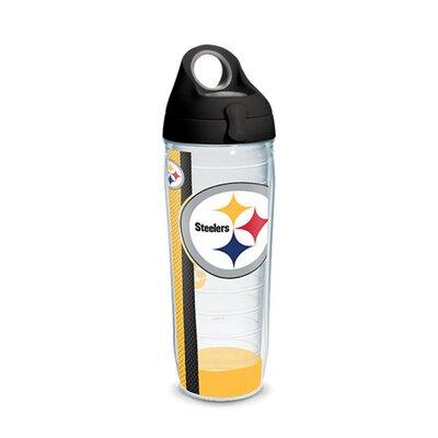 NFL 24 oz. Plastic Water Bottle Team: Pittsburgh Steelers 1231147