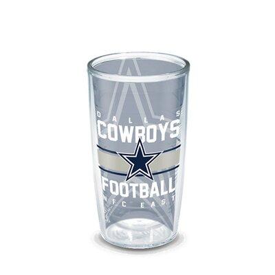 NFL 16 oz. Plastic Every Day Glass Size: 16 oz., Team: Dallas Cowboys 1195740