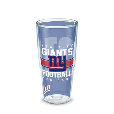 NFL Tumbler Size: 24 oz., Team: New York Giants 1195104