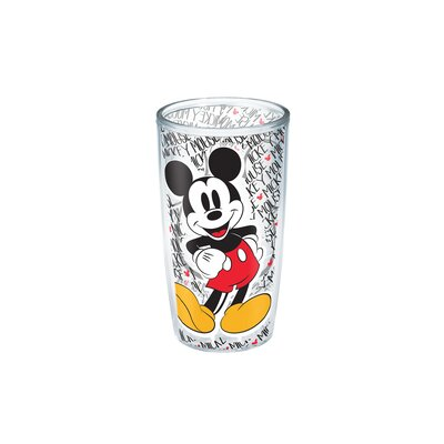 Disney Mickey Mouse 16 oz. Plastic Every Day Glass 1228026
