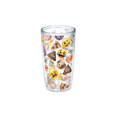 Emoji All Over Collage 16 oz. Tumbler 1232609
