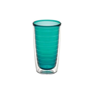 Jewel Color Tumbler Color: Emerald, Size: 16 oz. 1037254