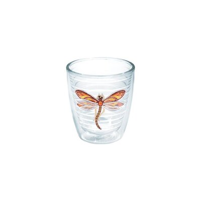 Garden Party Dragonfly Shimmer Tumbler Color: Purple, Size: 24 oz. 1137012