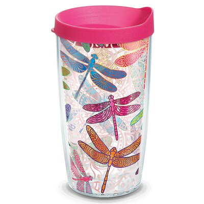 Garden Party Dragonfly Mandala Insulated Tumbler 1245293