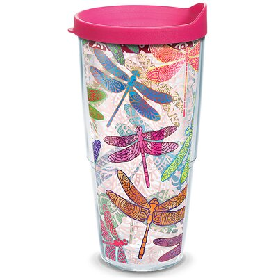 Garden Party Dragonfly Mandala Insulated Tumbler 1245295