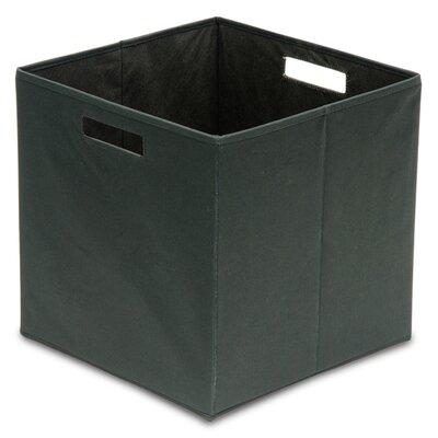 Fabric Full Storage Bin (Set of 4) Color: Black BIN-3963075075-4