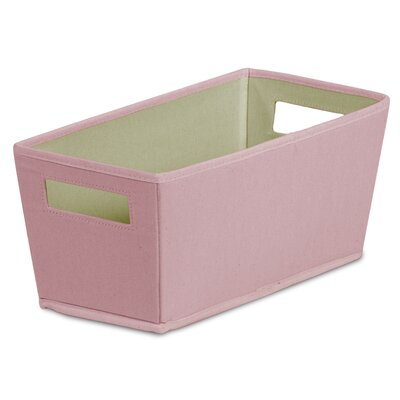 Fabric Quarter Storage Bin (Set of 4) Color: Desert Flower REBR4260 42915125