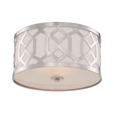 Beckman Contemporary 3-Light Flush Mount