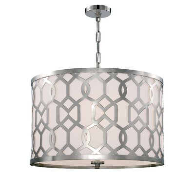 Beckman Contemporary 5-Light Drum Pendant