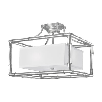 Masefield 3-Light Semi Flush Mount