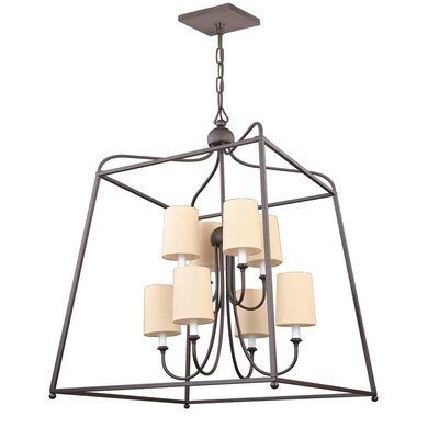 Taraval 8-Light Foyer Pendant Finish: Dark Bronze