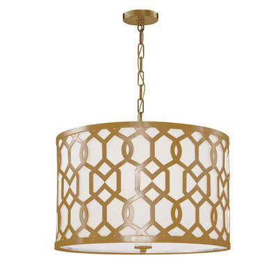 Beckman 5-Light Drum Pendant