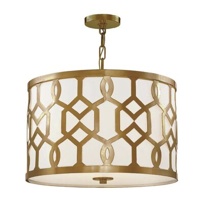 Beckman 3-Light Drum Pendant