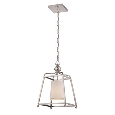 Taraval 1-Light Mini Pendant Finish: Polished Nickel