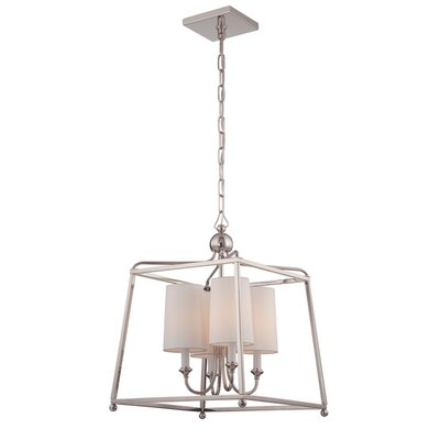 Sylvan 5-Light Foyer Pendant Finish: Polished Nickel