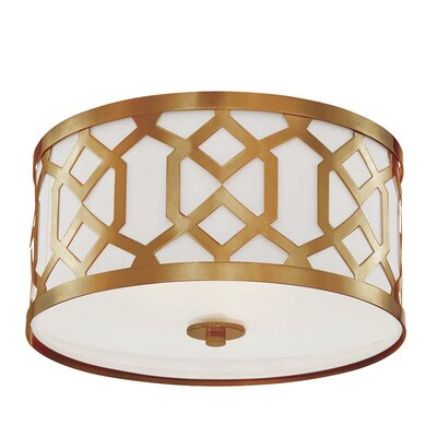 Beckman 3-Light Flush Mount
