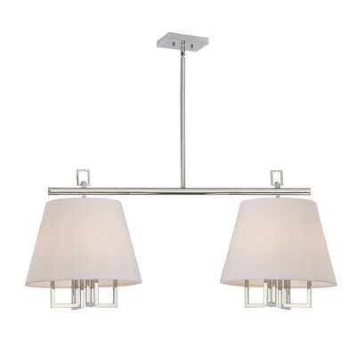 Longley 8-Light Kitchen Island Pendant