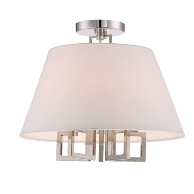 Longley 5-Light Semi-Flush Mount
