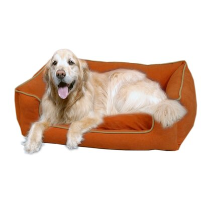 Calypso Timothy Pet Bed Size: Large (42 L x 30 W), Color: Chocolate